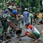Membangun Desa Perbatasan, Pola Sinergi Dana Desa Dengan TMMD