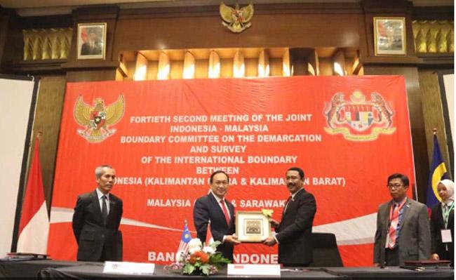 Indonesia – Malaysia Sepakat Garis Batas OBP Simantipal dan C500-C600